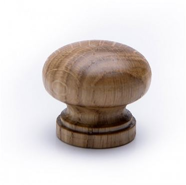 Oak Knob Lacquered 34mm