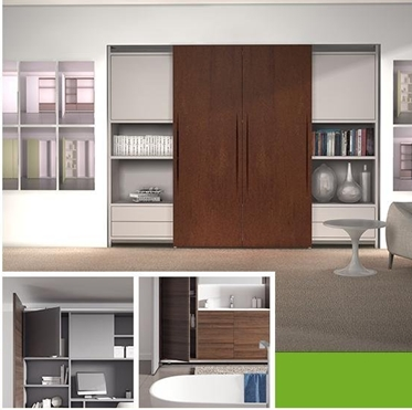SLIDING DOOR FOR FURNITURE